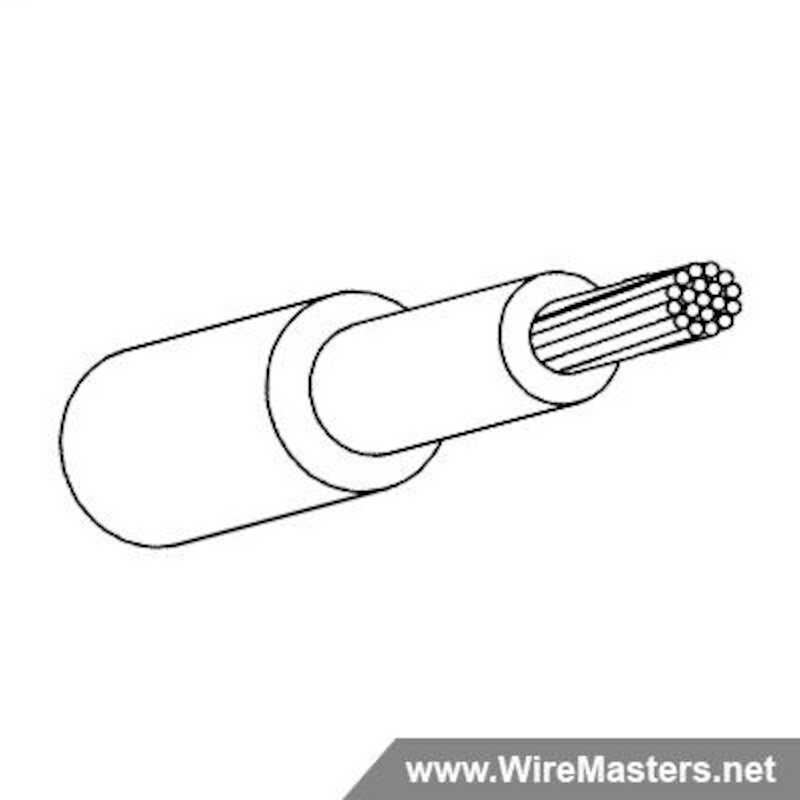 M22759/34-10-9 is a Tin Plated Copper, Dual Layer Cross Linked ETFE Jacketed Wire, 150°C. QPL material with certifications and test reports.