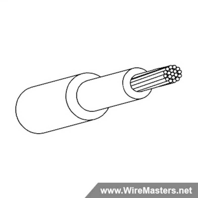M81044/12-12-9 is a 12 AWG Tin Plated Copper, Cross-linked extruded polyalkene and Cross Linked Polyvinyledene Fluoride Jacketed Wire, 150° C.