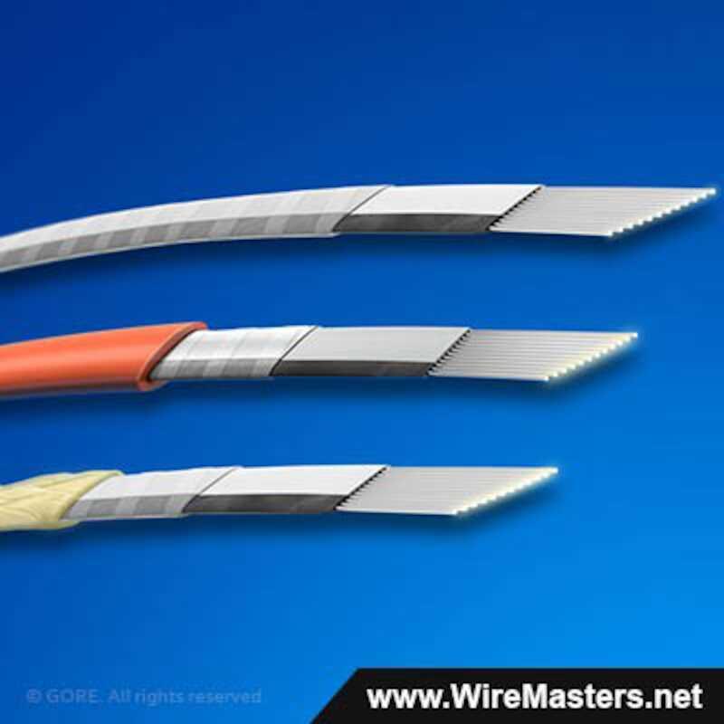 FON1214/4/12 Fiber Optic Cable, 50/125/245 12-Fiber Ribbon, Jacket Color White, Max. Diameter 3.6 mm.