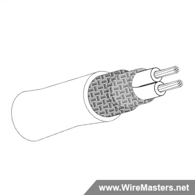 Due to current industry shortages, please expect a lead time of approximately 16 - 22 weeks. M27500-24SB2V23 is a 2 conductor cable with TIN COATED Cu ROUND shielding and Crosslinked Tefzel jacket with an M22759/32 inner conductor