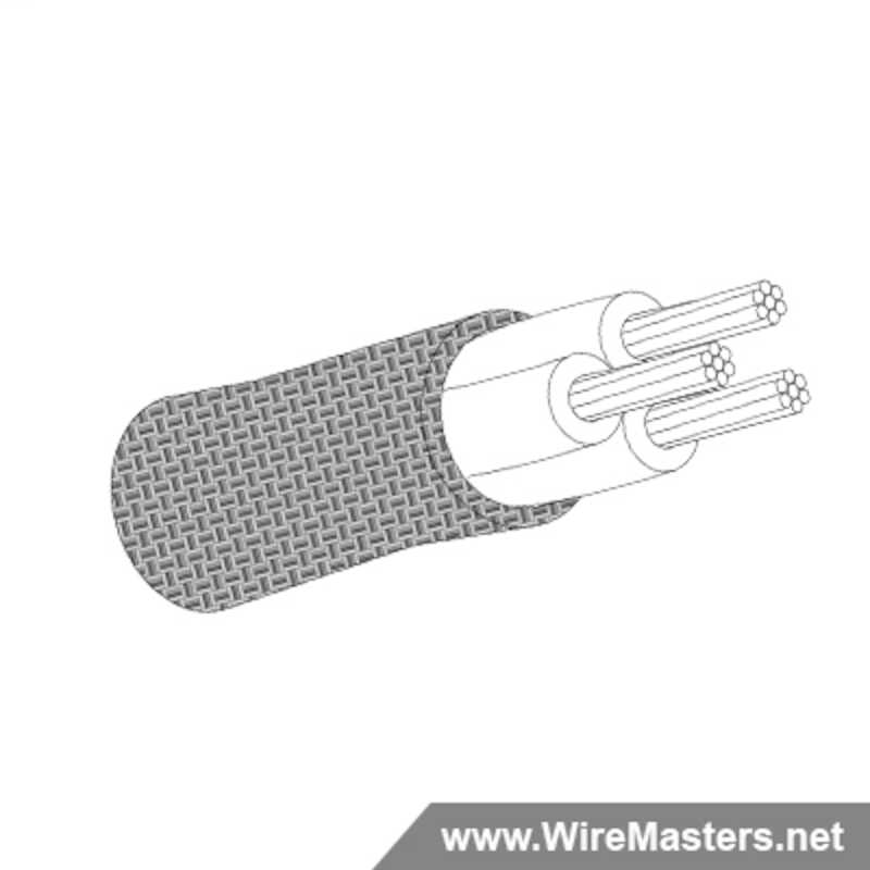 Due to current industry shortages, please expect a lead time of approximately 16 - 22 weeks. M27500-24SB3T00 is a 3 conductor cable with TIN COATED Cu ROUND shielding and no  jacket with an M22759/32 inner conductor